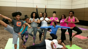 Fierce yogis!