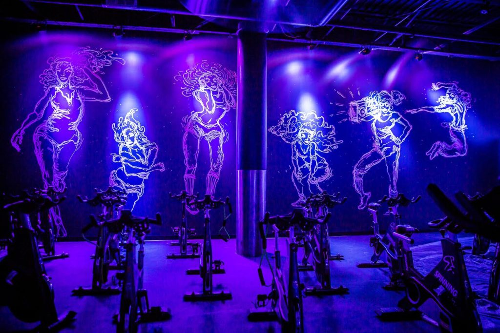 Plus, how COOL is this cycle studio?!